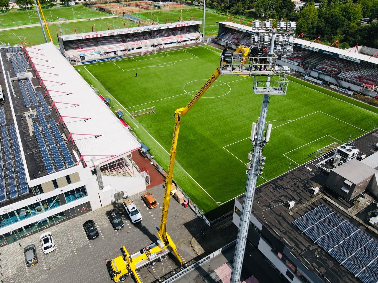 Stadion verlichting